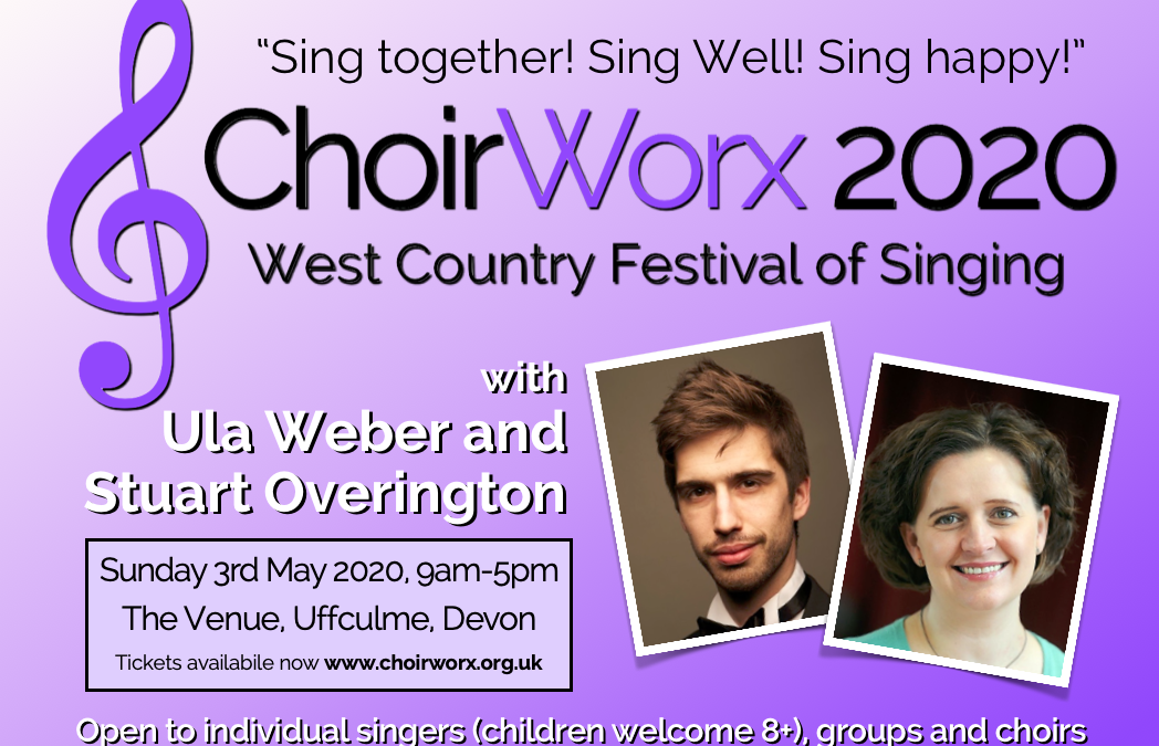 Get your tickets now for ChoirWorx 2020!