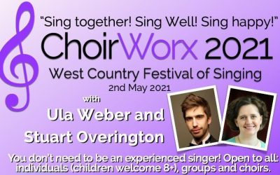 Get your tickets now for ChoirWorx 2021!